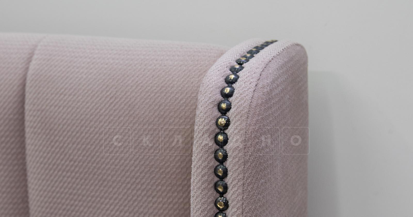Мягкая кровать Мелисса 160 см велюр ява фото 7 | интернет-магазин Складно