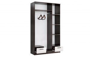 Шкаф трехстворчатый Адель 1,2 с 2 ящиками 11540 рублей, фото 3 | интернет-магазин Складно