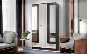 Шкаф трехстворчатый Адель 1,2 с 2 ящиками  11540  рублей, фото 1 | интернет-магазин Складно