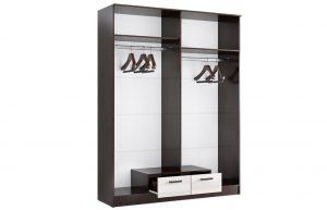 Шкаф четырехстворчатый Адель 1,6 с 2 ящиками 13470 рублей, фото 3 | интернет-магазин Складно