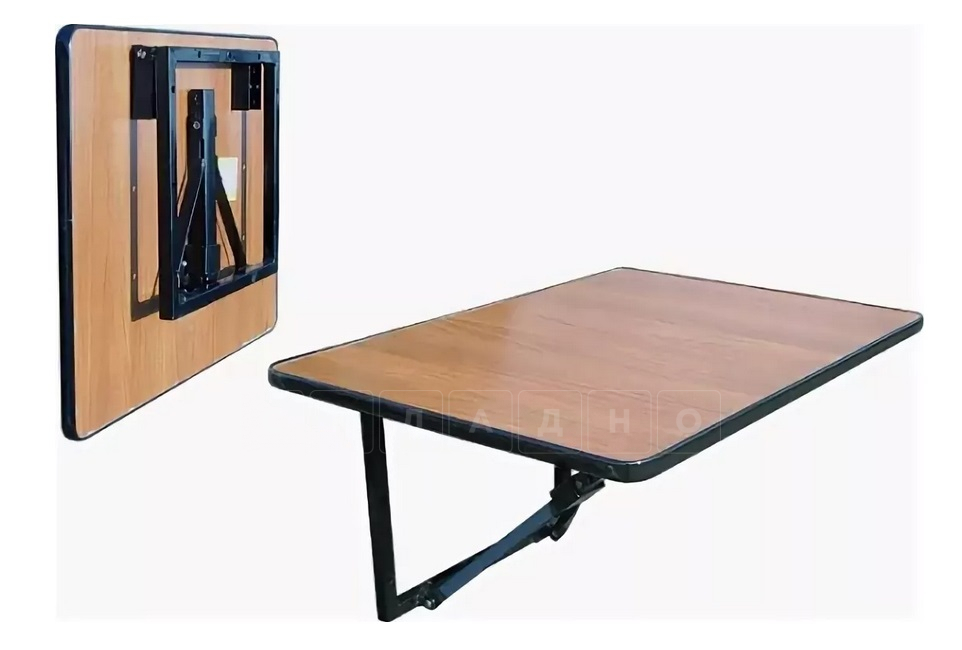 Складной стол навесной на стену 70 х 50 см. фото 1 | интернет-магазин Складно