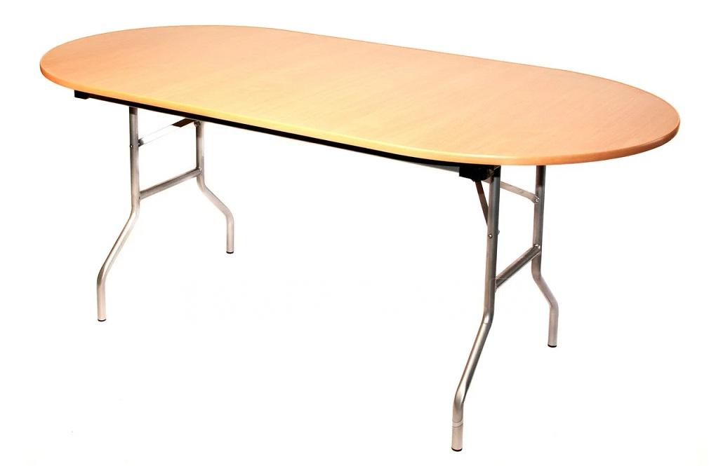 Складной стол Пьедестал овальный 120 х 60 см. фото 1 | интернет-магазин Складно