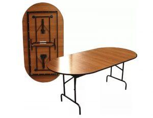 Складной стол Пьедестал овальный 120 х 60 см. 4430 рублей, фото 2 | интернет-магазин Складно