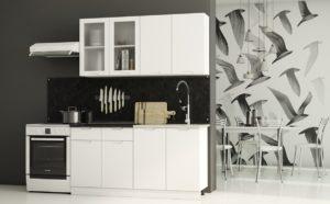 Кухонный гарнитур Берлин 1,6 м  18250  рублей, фото 1 | интернет-магазин Складно