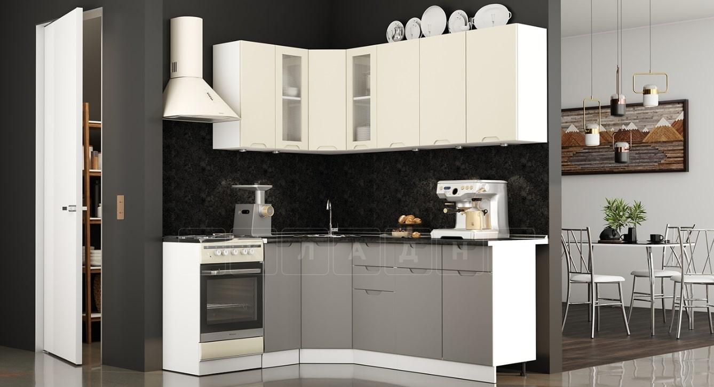 Кухня угловая Берлин 1,1х2,0 м фото 1 | интернет-магазин Складно