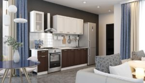 Кухонный гарнитур Лофт 2,0 м  18590  рублей, фото 1 | интернет-магазин Складно
