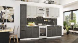 Кухонный гарнитур Лофт 2,4 м  30220  рублей, фото 1 | интернет-магазин Складно