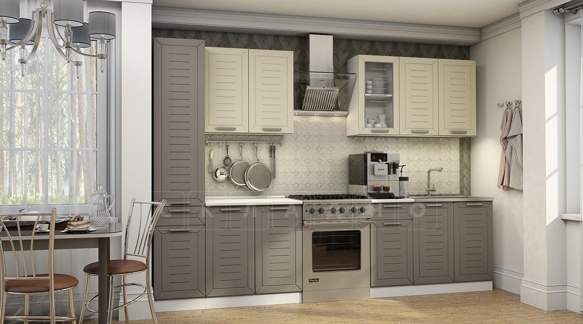 Кухонный гарнитур Честер 2,4 м фото 1 | интернет-магазин Складно