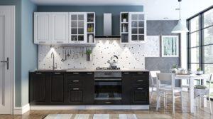 Кухонный гарнитур Модена 2,5 м вариант 1  34450  рублей, фото 1   интернет-магазин Складно