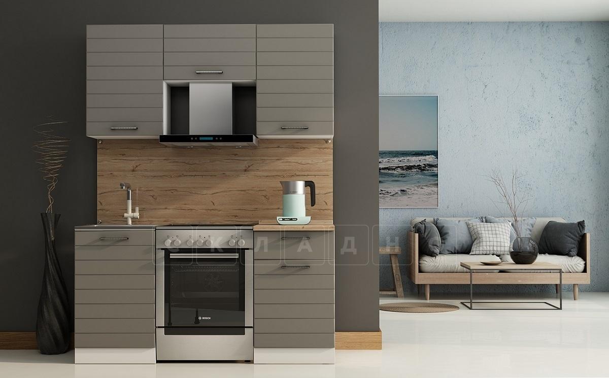 Кухонный гарнитур Ривьера 1,6 м фото 1 | интернет-магазин Складно