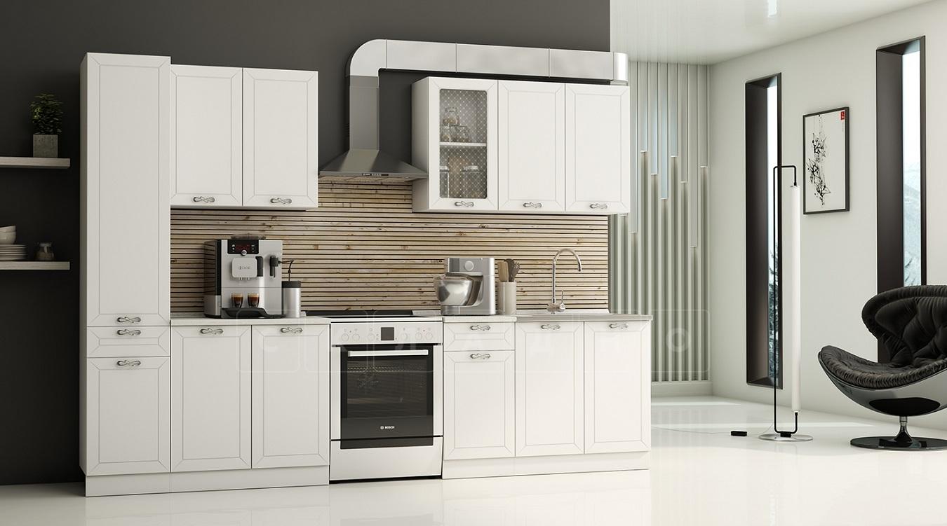 Кухонный гарнитур Севилья 2,4 м с пеналом фото 1 | интернет-магазин Складно
