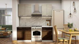 Кухонный гарнитур Шале 140 см  16130  рублей, фото 1 | интернет-магазин Складно