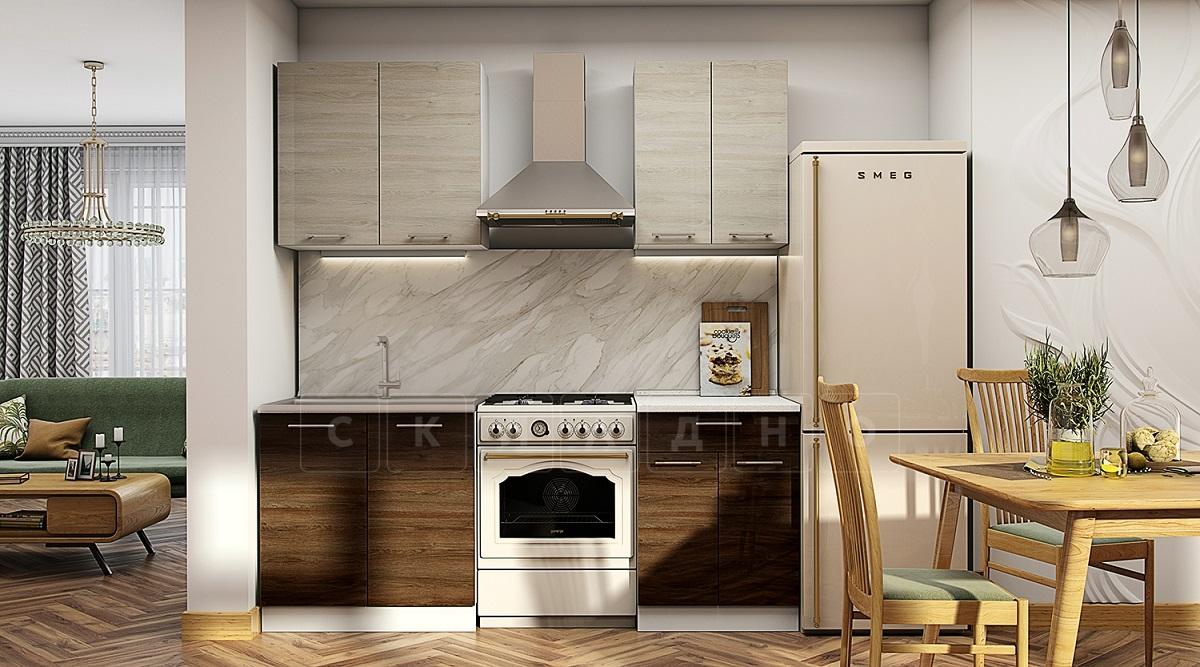 Кухонный гарнитур Шале 140 см фото 1 | интернет-магазин Складно