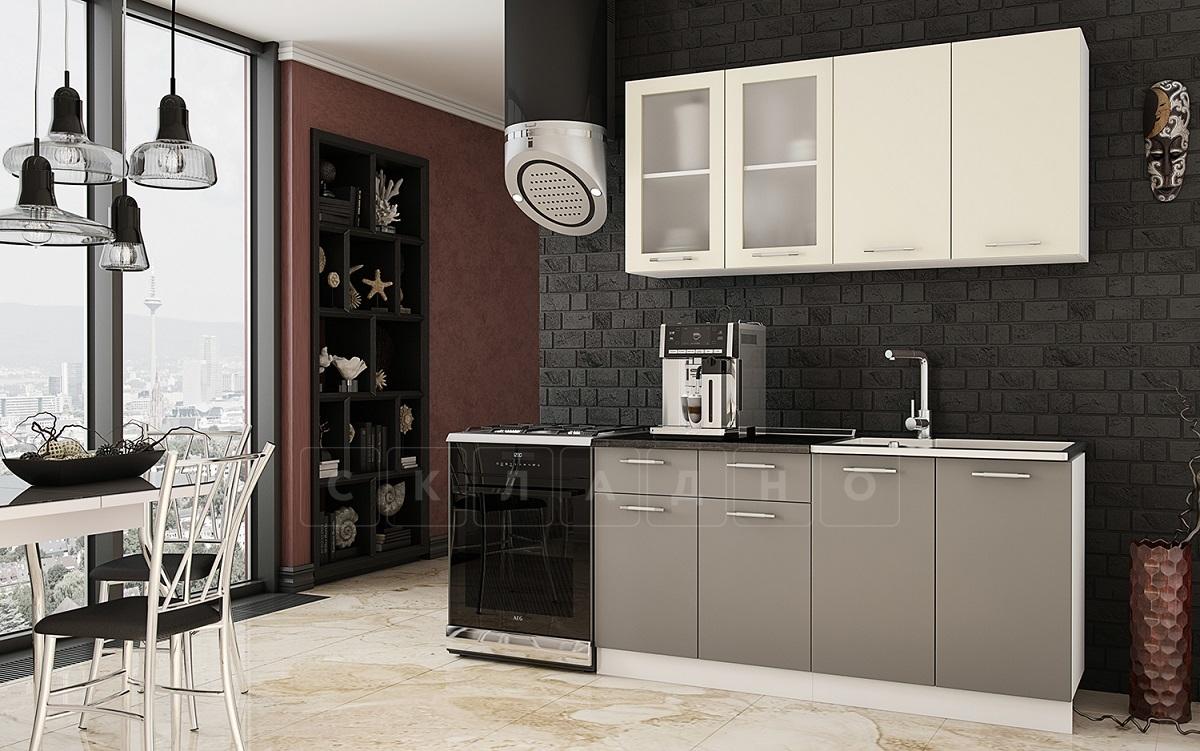 Кухонный гарнитур Шарлотта софт 1,6 м фото 1 | интернет-магазин Складно