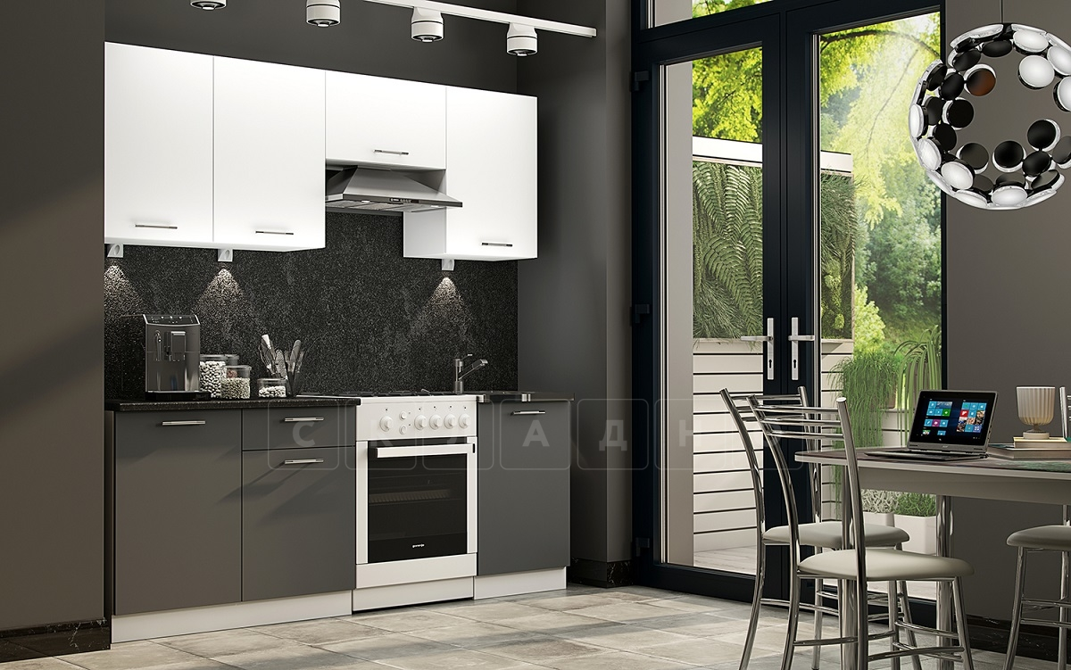 Кухонный гарнитур Шарлотта софт 2,1 м фото 1   интернет-магазин Складно