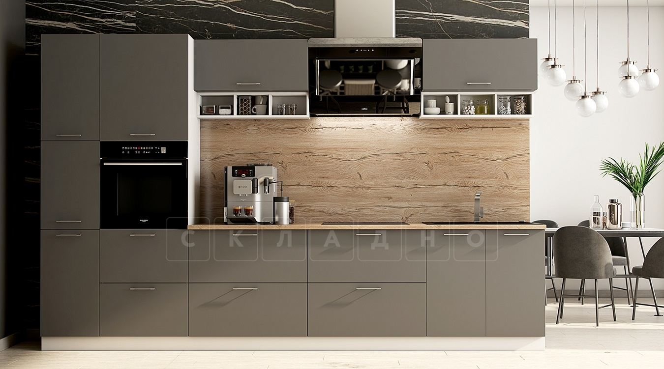 Кухонный гарнитур Шарлотта 3,4 м вариант 1 фото 1   интернет-магазин Складно