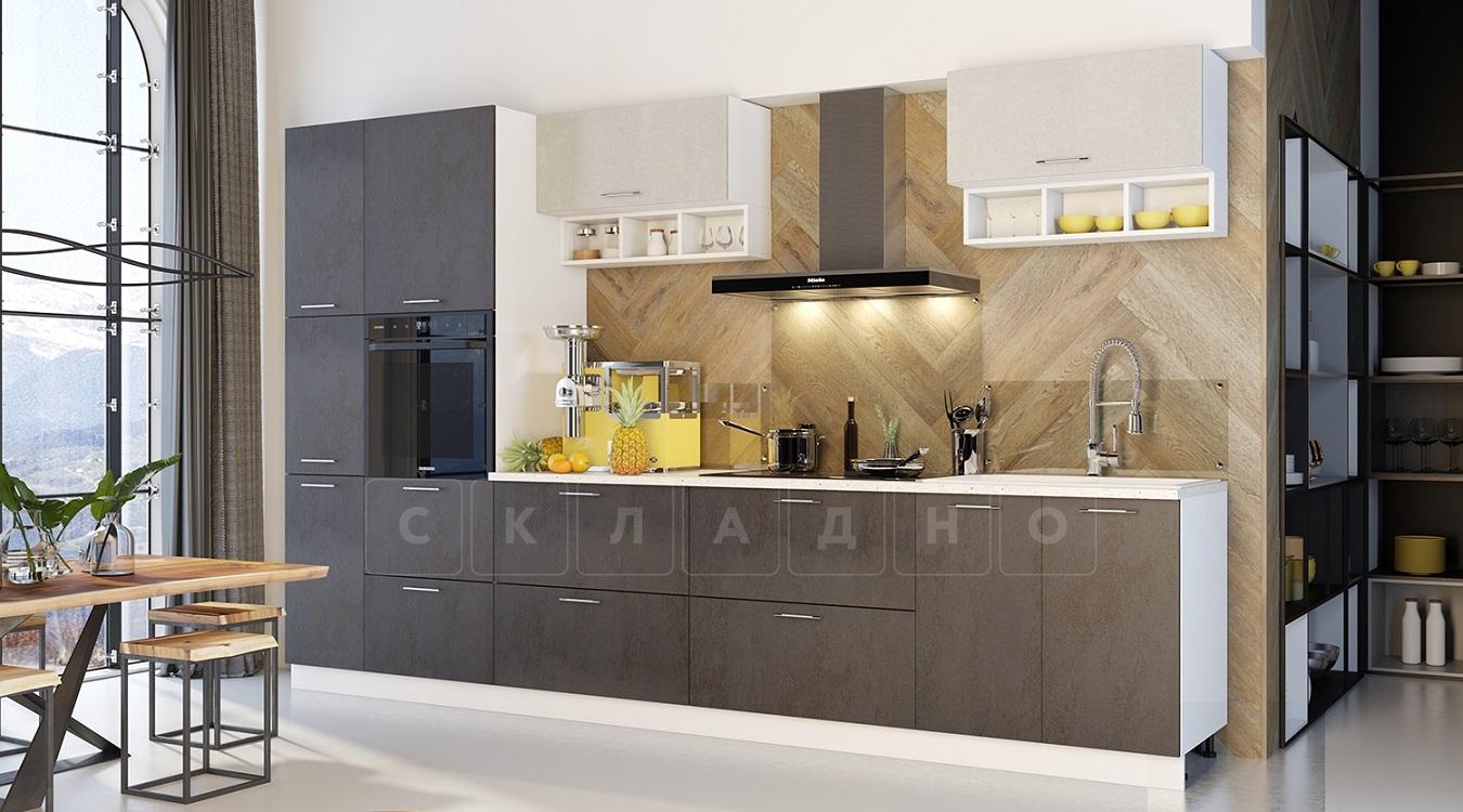 Кухонный гарнитур Шарлотта 3,4 м вариант 2 фото 1 | интернет-магазин Складно