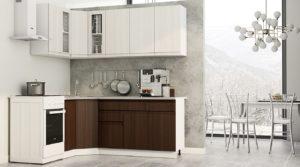 Кухня угловая Тулуза 1,1х2,0 м  34740  рублей, фото 1   интернет-магазин Складно