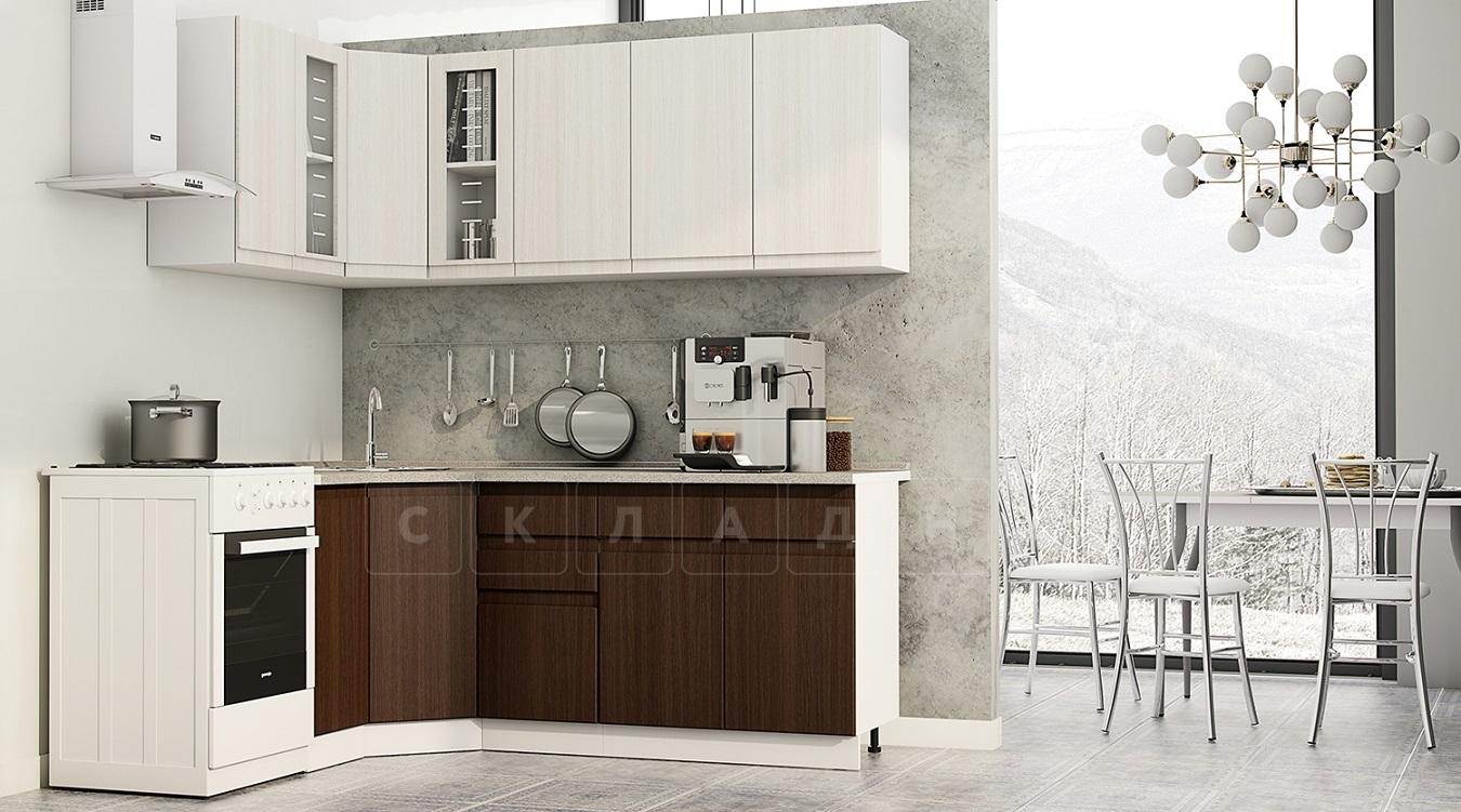 Кухня угловая Тулуза 1,1х2,0 м фото 1   интернет-магазин Складно