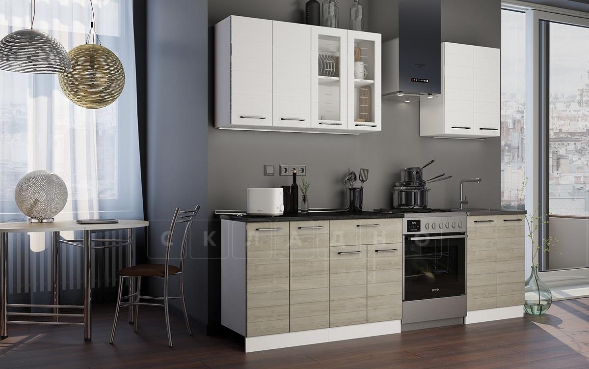 Кухонный гарнитур Ривьера 1,8 м фото 1 | интернет-магазин Складно