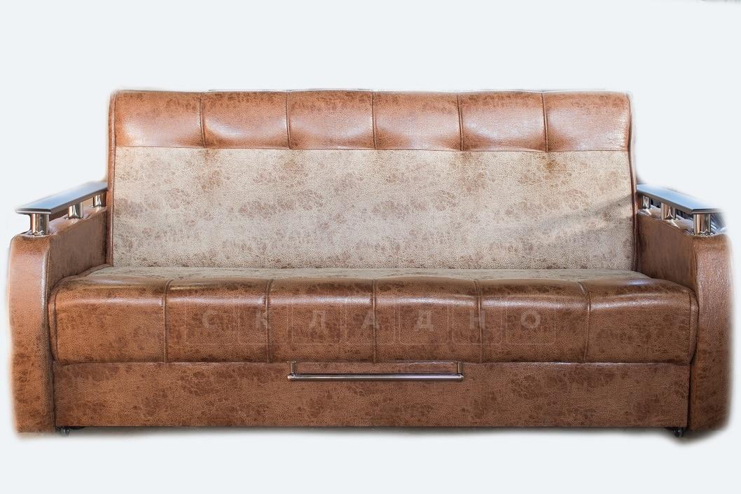 Диван-книжка выкатной Валенсия коричневый фото 1 | интернет-магазин Складно