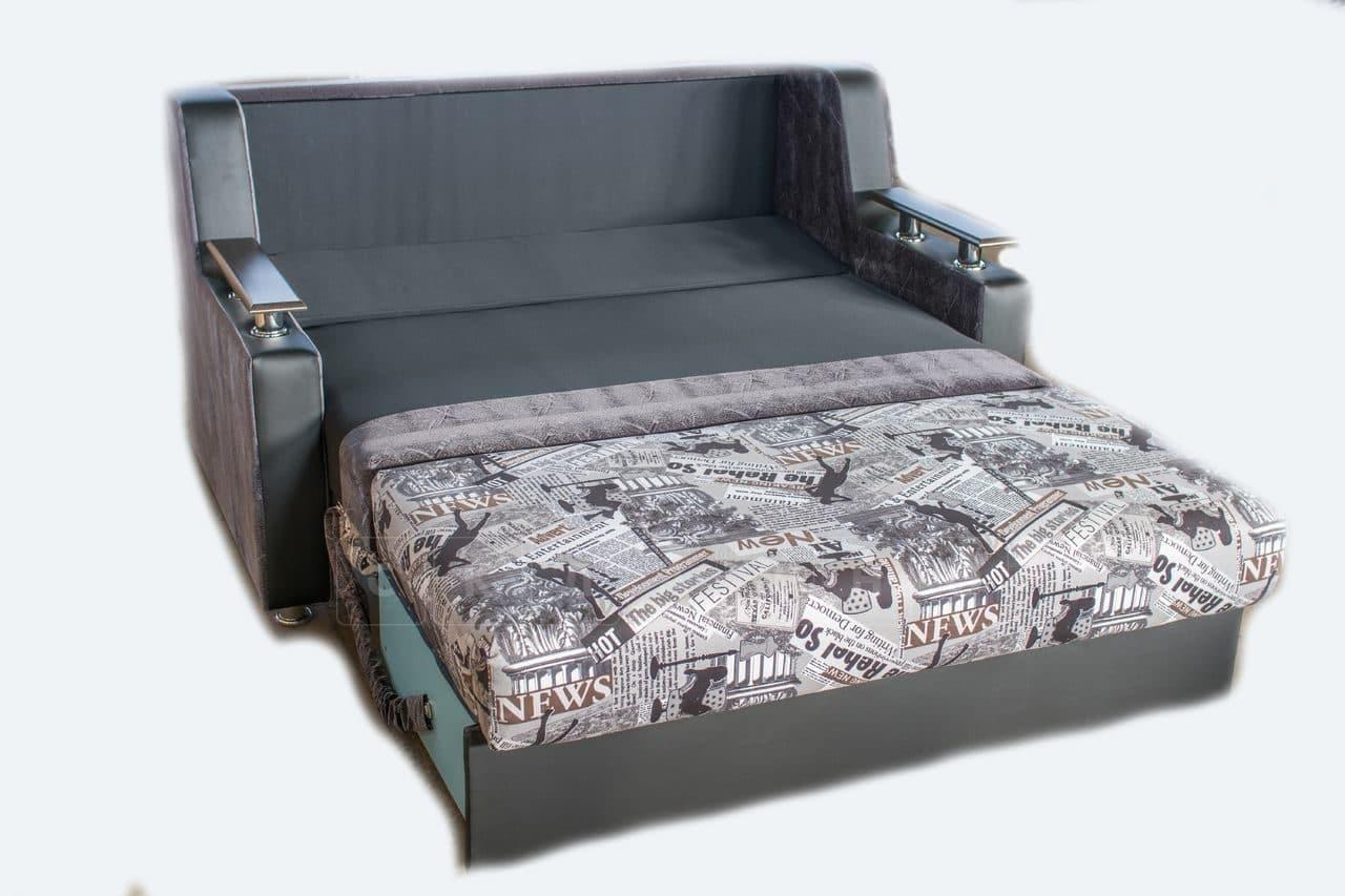 Диван выкатной Гармоника-3 пружинный 120 см со столиком фото 6 | интернет-магазин Складно