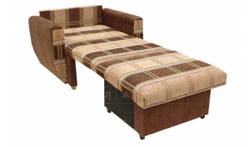 Кресло Шенилл 90 см со спальным местом фото 2 | интернет-магазин Складно