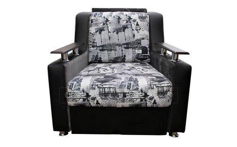 Кресло для отдыха Гармоника-2 со спальным местом 70 см фото 3 | интернет-магазин Складно