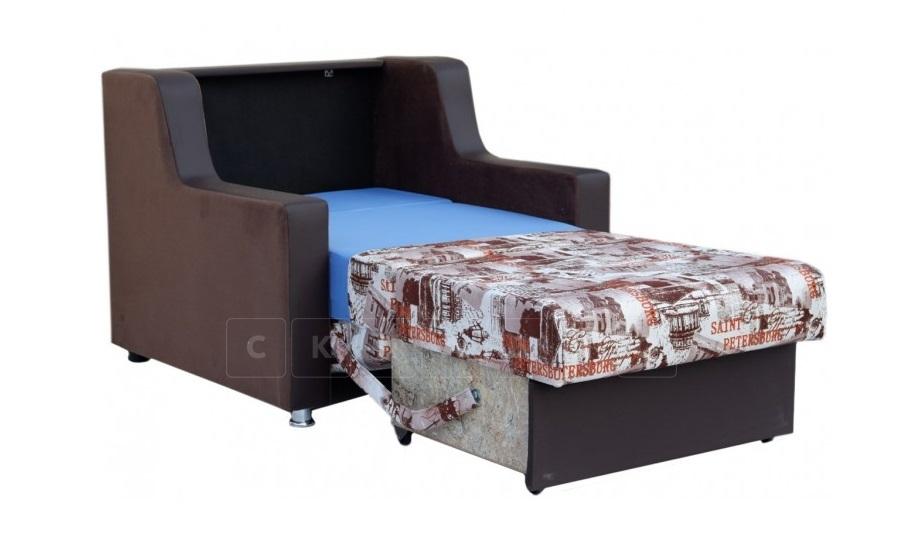 Кресло для отдыха Гармоника-4 со спальным местом 70 см фото 2 | интернет-магазин Складно