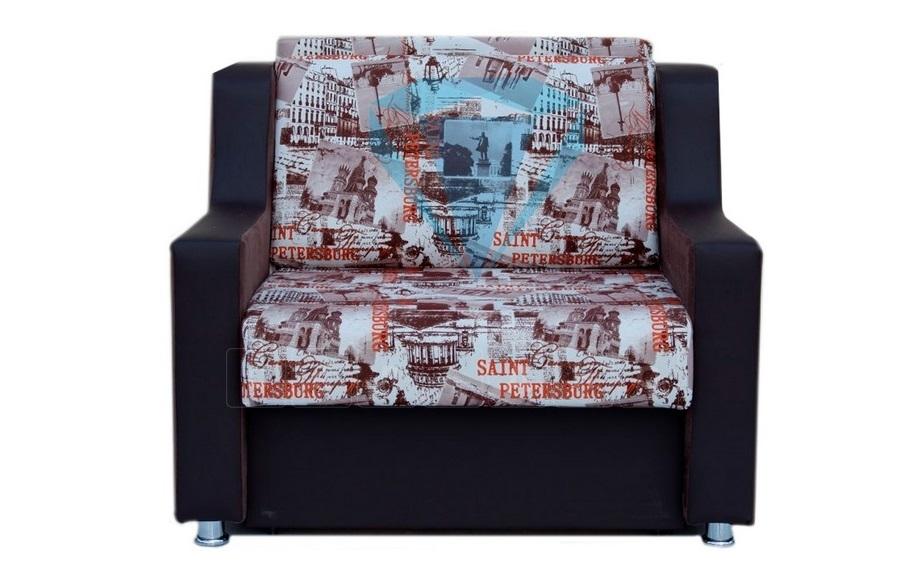 Кресло для отдыха Гармоника-4 со спальным местом 70 см фото 1 | интернет-магазин Складно
