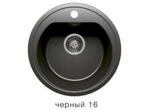 Кухонная мойка POLYGRAN F-05 из искусственного камня D45 см 3800 рублей, фото 6   интернет-магазин Складно
