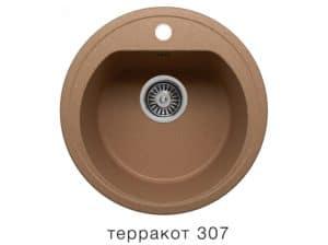 Кухонная мойка POLYGRAN F-05 из искусственного камня D45 см 3800 рублей, фото 8   интернет-магазин Складно