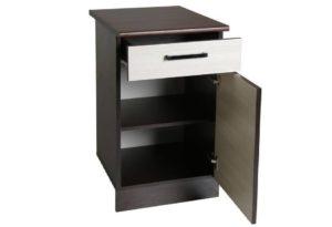 Кухонный шкаф напольный Мальва ШН40 с 1 ящиком фото | интернет-магазин Складно