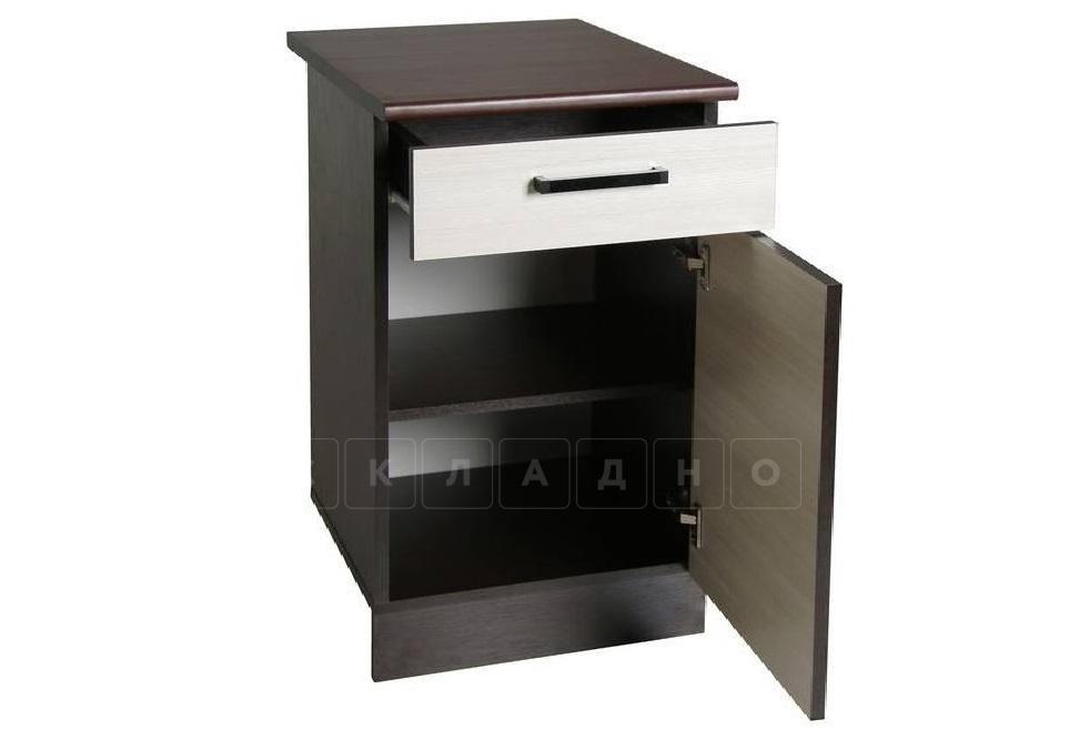 Кухонный шкаф напольный Мальва ШН40 с 1 ящиком фото 2 | интернет-магазин Складно