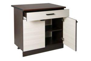 Кухонный шкаф напольный Мальва ШН80 с 1 ящиком фото | интернет-магазин Складно