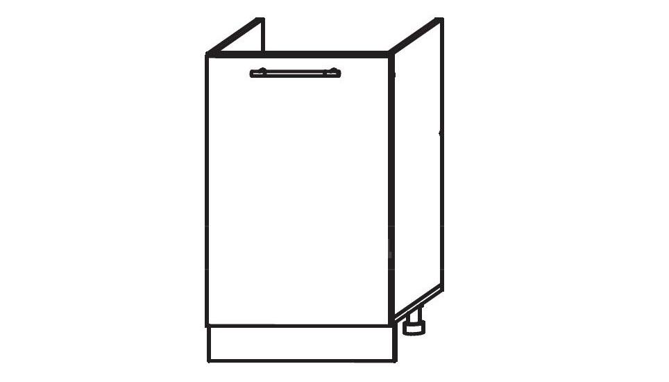 Тумба под мойку для кухни Мальва ШНМ50 фото 1 | интернет-магазин Складно