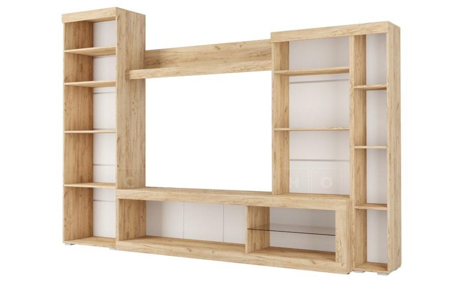 Стенка Бастон белая 2,8 метра фото 2 | интернет-магазин Складно