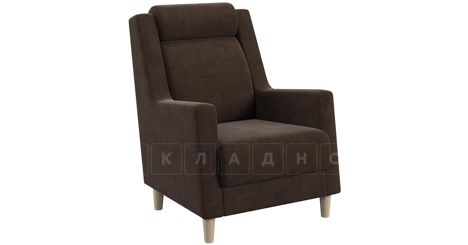 Кресло для отдыха Дарвин коричневый фото 1   интернет-магазин Складно