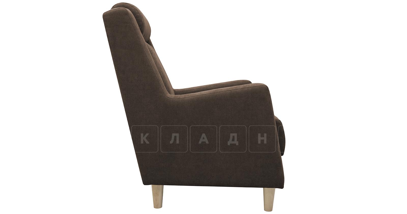 Кресло для отдыха Дарвин коричневый фото 3   интернет-магазин Складно