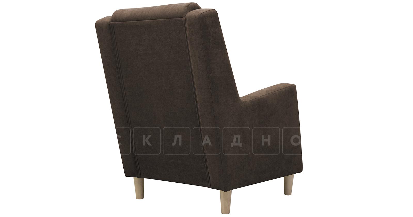 Кресло для отдыха Дарвин коричневый фото 4   интернет-магазин Складно