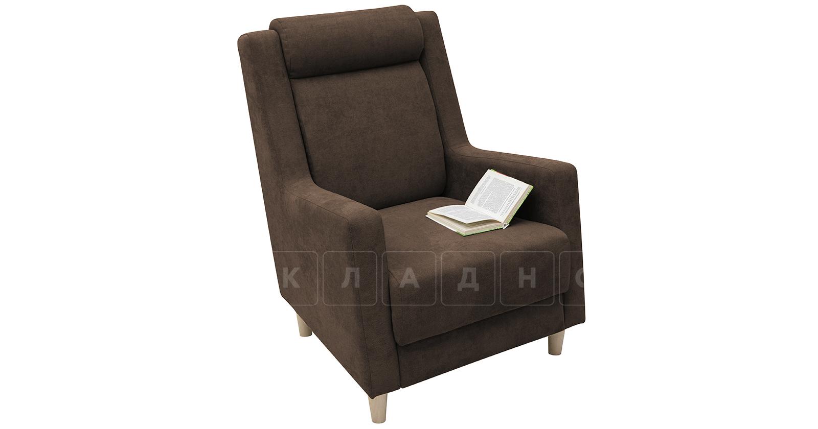 Кресло для отдыха Дарвин коричневый фото 5   интернет-магазин Складно