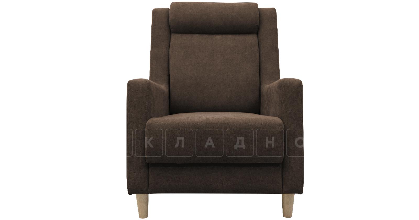 Кресло для отдыха Дарвин коричневый фото 2   интернет-магазин Складно