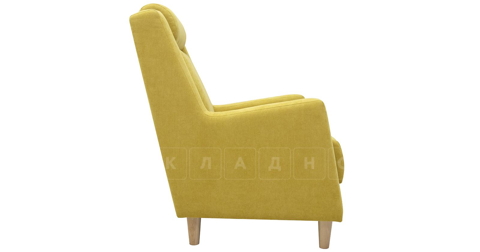 Кресло для отдыха Дарвин горчичный фото 3   интернет-магазин Складно