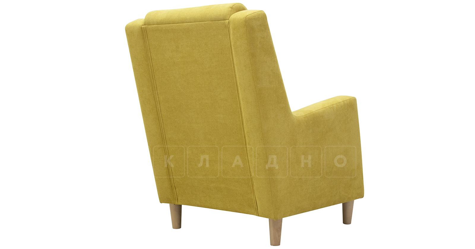 Кресло для отдыха Дарвин горчичный фото 4   интернет-магазин Складно
