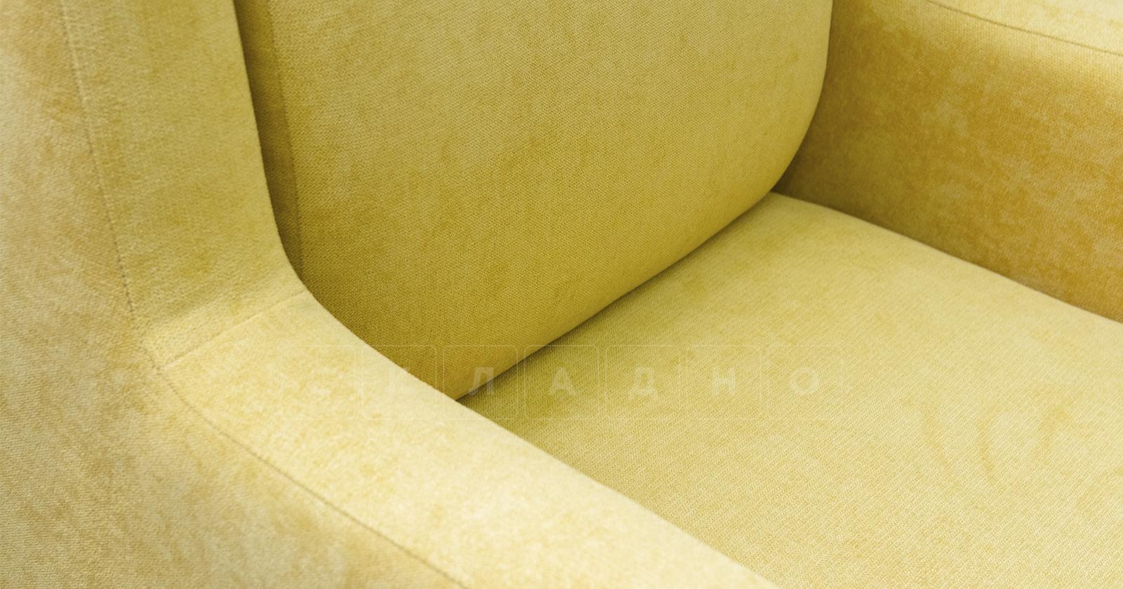 Кресло для отдыха Дарвин горчичный фото 8   интернет-магазин Складно