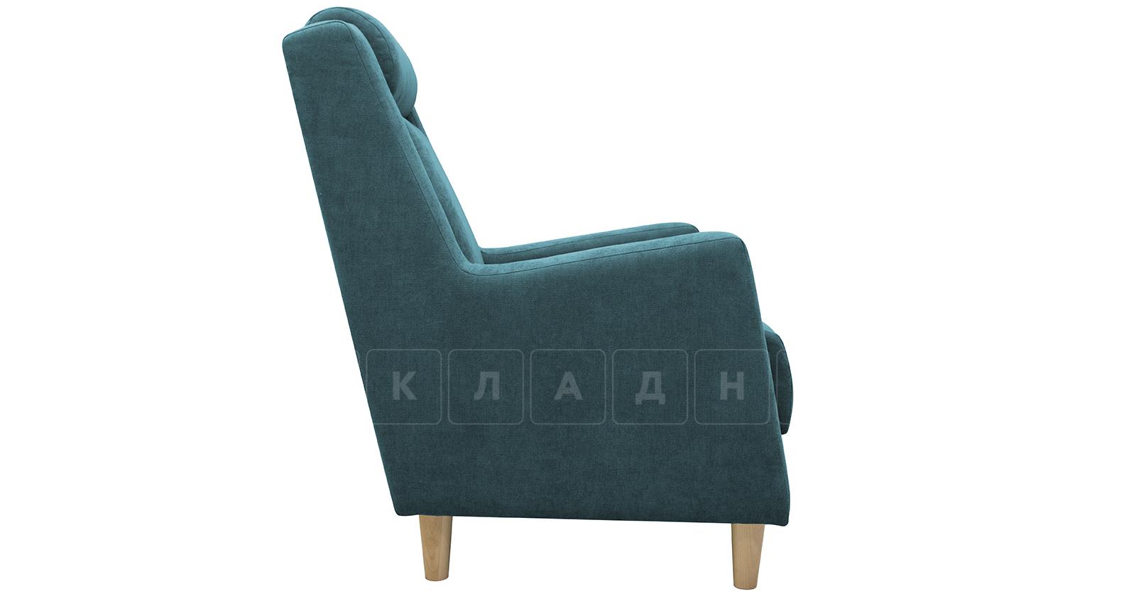 Кресло для отдыха Дарвин бирюзовый фото 3   интернет-магазин Складно