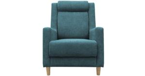 Кресло для отдыха Дарвин бирюзовый фото | интернет-магазин Складно