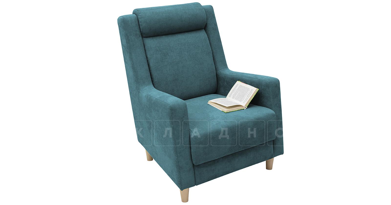 Кресло для отдыха Дарвин бирюзовый фото 5   интернет-магазин Складно