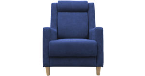 Кресло для отдыха Дарвин темно-синий-15385 фото   интернет-магазин Складно