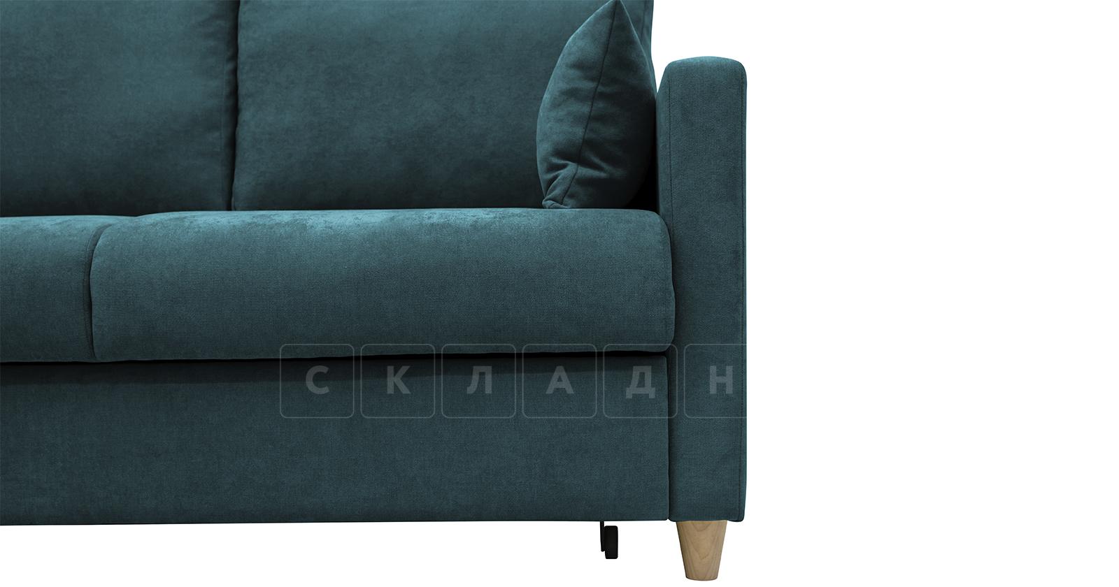 Угловой диван Дарвин бирюзовый фото 11   интернет-магазин Складно